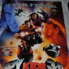 Cine: CARTEL DE CINE ORIGINAL DE LA PELÍCULA SPY KIDS 3D, 70 POR 100CM. Lote 122619848
