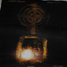 Cine: CARTEL DE CINE ORIGINAL DE LA PELÍCULA THE DARK, MARÍA BELLO, SEAN BEAN, 70X100CM. Lote 41175641
