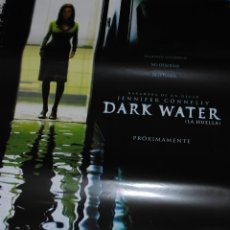 Cine: CARTEL DE CINE ORIGINAL DE LA PELÍCULA DARK WATER, LA HUELLA, 70X100CM. Lote 41176466
