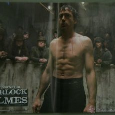 Cine: QH75 SHERLOCK HOLMES ROBERT DOWNEY JR JUDE LAW SET 6 POSTERS ORIGINAL ITALIANO 47X68. Lote 41283748