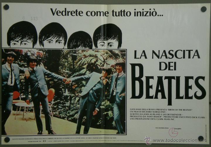 Cine: QH71 EL NACIMIENTO DE LOS BEATLES THE BEATLES SET 6 POSTERS ORIGINAL ITALIANO 47X68 - Foto 3 - 41284933