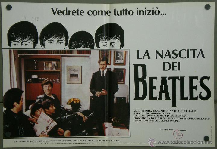 Cine: QH71 EL NACIMIENTO DE LOS BEATLES THE BEATLES SET 6 POSTERS ORIGINAL ITALIANO 47X68 - Foto 4 - 41284933