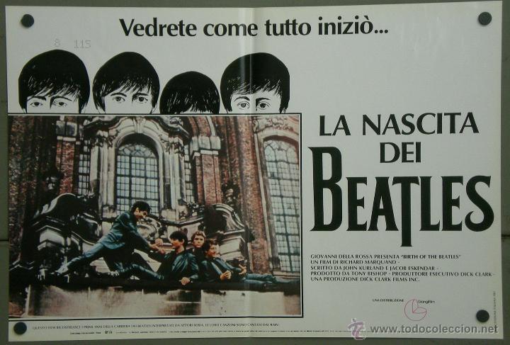 Cine: QH71 EL NACIMIENTO DE LOS BEATLES THE BEATLES SET 6 POSTERS ORIGINAL ITALIANO 47X68 - Foto 5 - 41284933