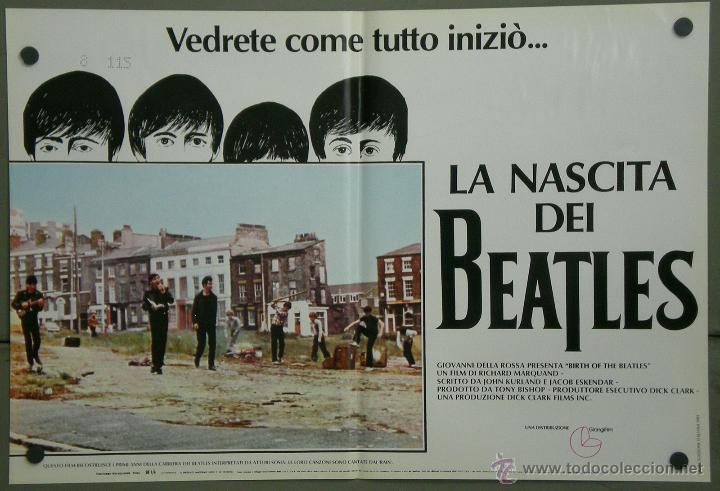 Cine: QH71 EL NACIMIENTO DE LOS BEATLES THE BEATLES SET 6 POSTERS ORIGINAL ITALIANO 47X68 - Foto 6 - 41284933