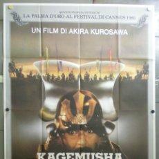 Cine: QH88 KAGEMUSHA AKIRA KUROSAWA TOHO POSTER ORIGINAL 140X200 ITALIANO. Lote 41287055