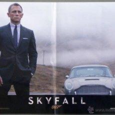 Cine: QH92 SKYFALL JAMES BOND 007 DANIEL CRAIG JAVIER BARDEM SET 6 POSTERS ORIGINAL ITALIANO 47X68. Lote 41287350