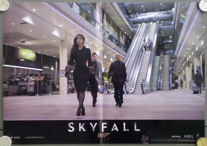 Cine: QH92 SKYFALL JAMES BOND 007 DANIEL CRAIG JAVIER BARDEM SET 6 POSTERS ORIGINAL ITALIANO 47X68 - Foto 2 - 41287350
