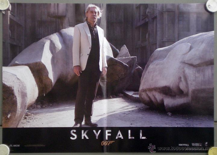 Cine: QH92 SKYFALL JAMES BOND 007 DANIEL CRAIG JAVIER BARDEM SET 6 POSTERS ORIGINAL ITALIANO 47X68 - Foto 3 - 41287350