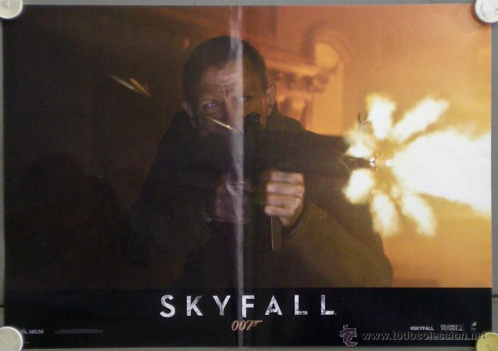 Cine: QH92 SKYFALL JAMES BOND 007 DANIEL CRAIG JAVIER BARDEM SET 6 POSTERS ORIGINAL ITALIANO 47X68 - Foto 6 - 41287350