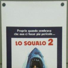 Cine: QI45D TIBURON 2 ROY SCHEIDER ORIGINAL POSTER ORIGINAL ITALIANO 33X70. Lote 41294199