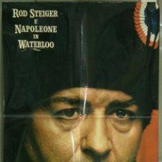 Cine: QJ12D WATERLOO NAPOLEON WELLINGTON ROD STEIGER PLUMMER SET 5 POSTERS ORIGINAL ITALIANO 68X94. Lote 41311565