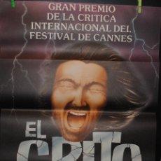 Cine: CARTEL DE CINE ORIGINAL DE LA PELÍCULA EL GRITO 2000, 70 POR 100CM. Lote 41355028