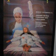 Cine: CARTEL DE CINE ORIGINAL TRÁGALA PERRO, AMPARO MUÑOZ, 70 POR 100CM. Lote 41355585