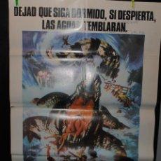 Cine: CARTEL DE CINE ORIGINAL DE LA PELÍCULA COCODRILO 1976, 70 POR 100CM. Lote 41355790