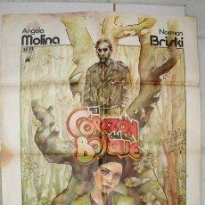 Cine: CARTEL DE LA PELICULA: EL CORAZON DEL BOSQUE. ANGELA MOLINA. Lote 41365379