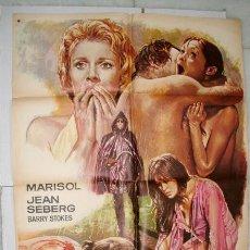 Cine: CARTEL DE LA PELICULA: LA CORRUPCION DE CHRIS MILLER. MARISOL.. Lote 41365683