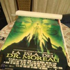 Cine: CARTELES DE CINE ORIGINALES PELICULA LA ISLA DOCTOR MOREAU. Lote 40983137