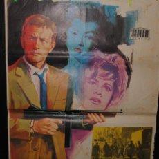 Cine: CARTEL DE CINE ORIGINAL LA MONEDA ROTA, JANO, 1966, 70 POR 100CM. Lote 41382455