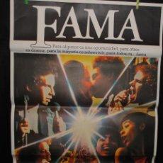 Cine: CARTEL DE CINE ORIGINAL DE LA PELÍCULA FAMA, PARA TODOS, 70 POR 100CM. Lote 41382715