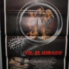 Cine: CARTEL DE CINE ORIGINAL DE LA PELÍCULA YO, EL JURADO, 70 POR 100CM. Lote 41382764