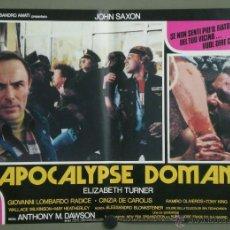 Cine: QK78 VIRUS ANTONIO MARGHERITI JOHN SAXON GORE SET DE 6 POSTERS ORIGINAL ITALIANO 47X68. Lote 41383918