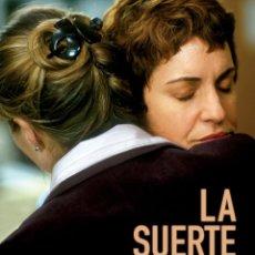 Cine: CARTEL DE CINE LA SUERTE DORMIDA ADRIANA OZORES // ORIGINAL TAMAÑO 70X100. Lote 41408285