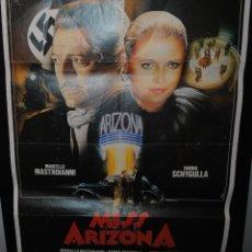 Cine: CARTEL DE CINE ORIGINAL DE LA PELÍCULA MISS ARIZONA, 70 POR 100CM. Lote 41453506