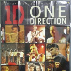 Cine: QL44 ONE DIRECTION THIS IS US 1D POSTER ORIGINAL ITALIANO 140X200. Lote 41477694
