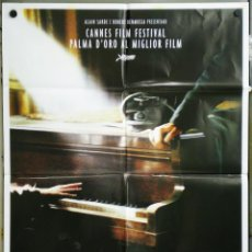 Cine: UG29 EL PIANISTA ROMAN POLANSKI ADRIEN BRODY POSTER ORIGINAL 100X140 ITALIANO. Lote 41479696