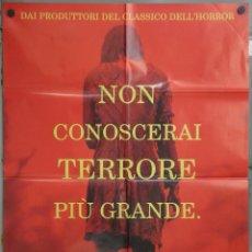 Cine: UG28 POSESION INFERNAL EVIL DEAD FEDE ALVAREZ TERROR POSTER ORIGINAL 100X140 ITALIANO. Lote 41479738