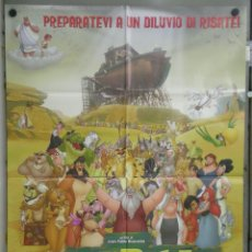 Cine: UG31 EL ARCA JUAN PABLO BUSCARINI ANIMACION POSTER ORIGINAL 100X140 ITALIANO. Lote 41480126