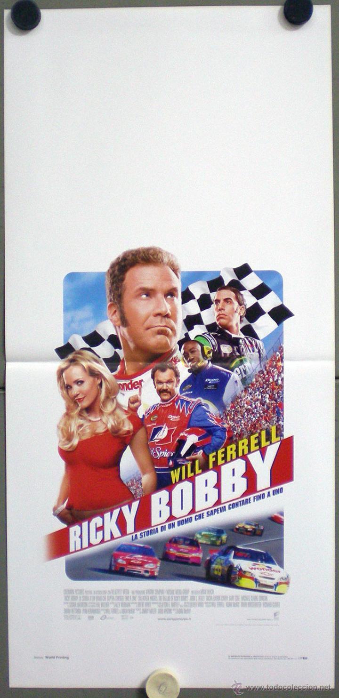 QL61 PASADO DE VUELTAS WILL FERRELL AUTOMOVILISMO NASCAR POSTER ORIGINAL 33X70 ITALIANO (Cine - Posters y Carteles - Deportes)