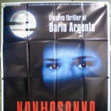 Cine: QL57 NON HO SONNO SLEEPLESS DARIO ARGENTO POSTER ORIGINAL ITALIANO 140X200. Lote 41504024