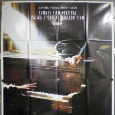 Cine: QL56 EL PIANISTA ROMAN POLANSKI ADRIEN BRODY POSTER ORIGINAL ITALIANO 140X200. Lote 41504180