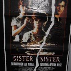 Cine: CARTEL DE CINE ORIGINAL DE LA PELÍCULA SISTER, SISTER, 70 POR 100CM. Lote 41508106