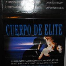 Cine: CARTEL DE CINE ORIGINAL DE LA PELÍCULA CUERPO DE ÉLITE, 70 POR 100CM. Lote 41508141