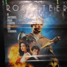 Cine: CARTEL DE CINE ORIGINAL DE LA PELÍCULA ROCKETEER, 70 POR 100CM. Lote 41508283