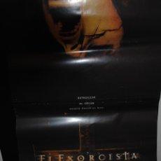 Cine: CARTEL DE CINE ORIGINAL DE LA PELÍCULA EL EXORCISTA, EL COMIENZO, 70 POR 100CM. Lote 94956028