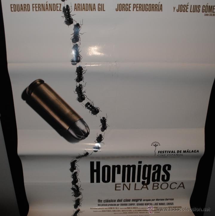 CARTEL DE CINE ORIGINAL DE LA PELÍCULA HORMIGAS EN LA BOCA, 70 POR 100CM (Cine - Posters y Carteles - Clasico Español)