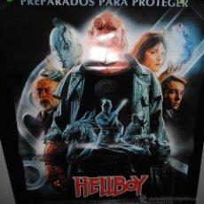 Cine: CARTEL DE CINE ORIGINAL DE LA PELÍCULA HELLBOY, 70 POR 100CM. Lote 41661291