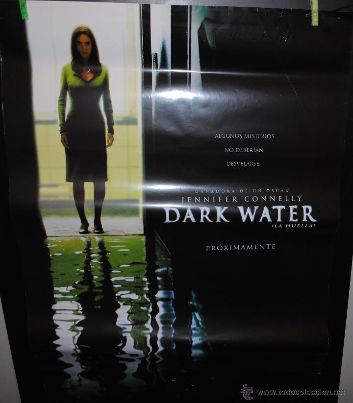 CARTEL DE CINE ORIGINAL DE LA PELÍCULA DARK WATER, 70 POR 100CM (Cine - Posters y Carteles - Terror)