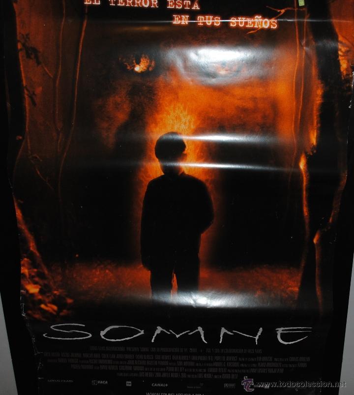 CARTEL DE CINE ORIGINAL DE LA PELÍCULA SOMNE, 70 POR 100CM (Cine - Posters y Carteles - Terror)