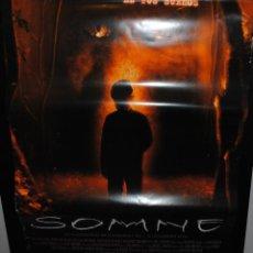 Cine: CARTEL DE CINE ORIGINAL DE LA PELÍCULA SOMNE, 70 POR 100CM. Lote 41662263