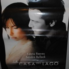 Cine: CARTEL DE CINE ORIGINAL DE LA PELÍCULA LA CASA DEL LAGO, 70 POR 100CM. Lote 41662333