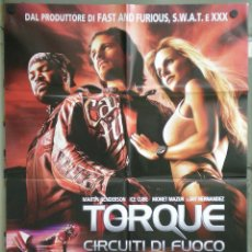 Cine: UJ56 TORQUE RODANDO AL LIMITE MOTOCICLISMO POSTER ORIGINAL ITALIANO 100X140. Lote 41725583