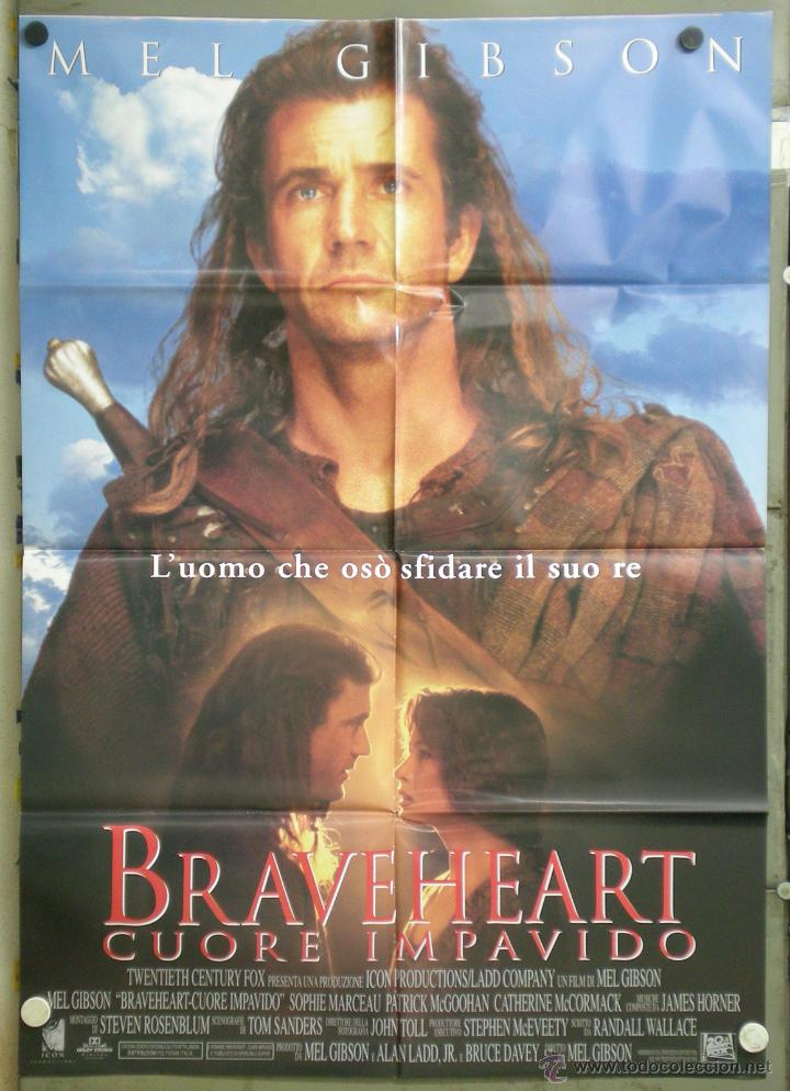 cartel de la pelicula braveheart
