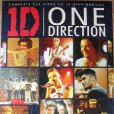 Cine: POSTER ORIGINAL ESPAÑOL ESTRENO DVD - ONE DIRECTION: THIS IS US - LIAM PAYNE, HARRY STYLES. Lote 41811135