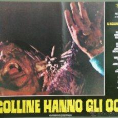 Cine: UK21D LAS COLINAS TIENEN OJOS WES CRAVEN SET DE 10 POSTERS ORIGINAL ITALIANO 47X68. Lote 41817204