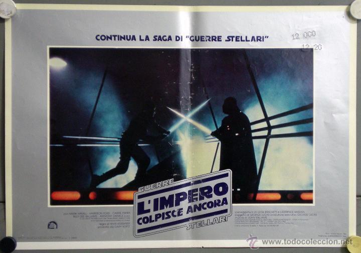 Cine: UK59 EL IMPERIO CONTRAATACA STAR WARS guerra de las galaxias SET 11 POSTERS ORIGINAL ITALIANO 47X68 - Foto 3 - 41925931