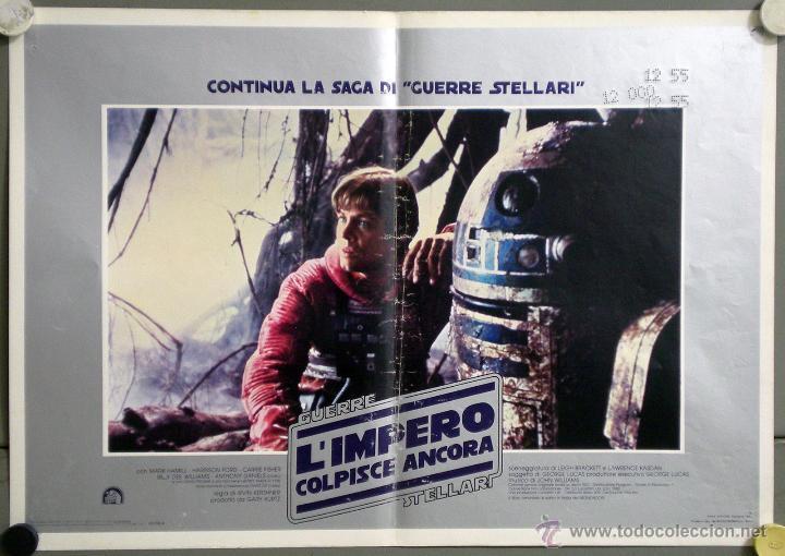 Cine: UK59 EL IMPERIO CONTRAATACA STAR WARS guerra de las galaxias SET 11 POSTERS ORIGINAL ITALIANO 47X68 - Foto 4 - 41925931